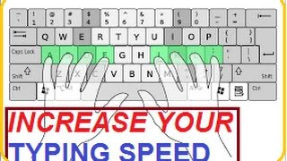how to type very fast