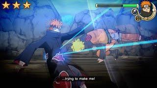 Naruto Shippuden Ultimate Ninja Impact Walkthrough Part 43 Naruto vs Tendo Pain Boss Fight (60 FPS)