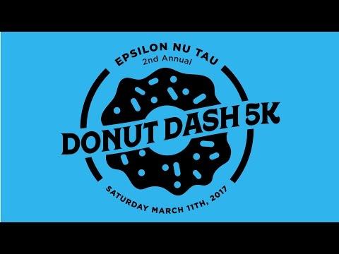 🍩  | Donut Dash 5k | Epsilon Nu Tau
