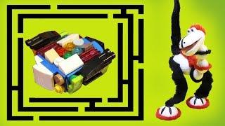 СОБИРАЕМ ЛЕГО БЕЙБЛЭЙД В ЛАБИРИНТЕ! Мультики с игрушками. Новые мультфильмы для детей 2018