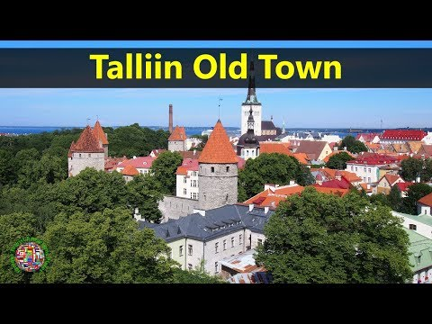 Best Tourist Attractions Places To Travel In Estonia | Tallinn Old Town Destination Spot