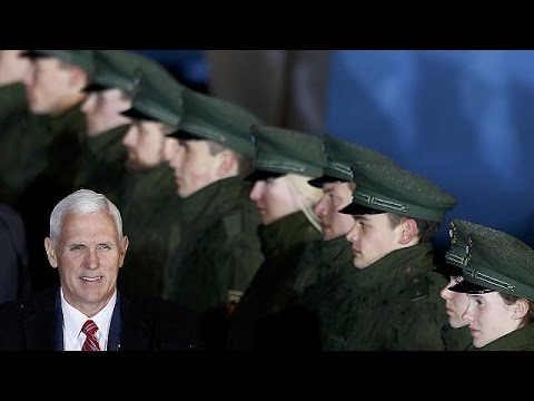 "Mike Pence en Europe pour ""rassurer"""