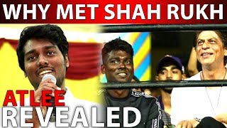 BREAKING | Why Met Shah Rukh Khan? Atlee Revealed