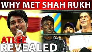 BREAKING | Why Met Shah Rukh Khan? Atlee Revealed | Vijay 63 Update | Shah Rukh Khan Atlee
