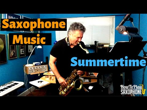 Summertime - Saxophone Music & Backing...