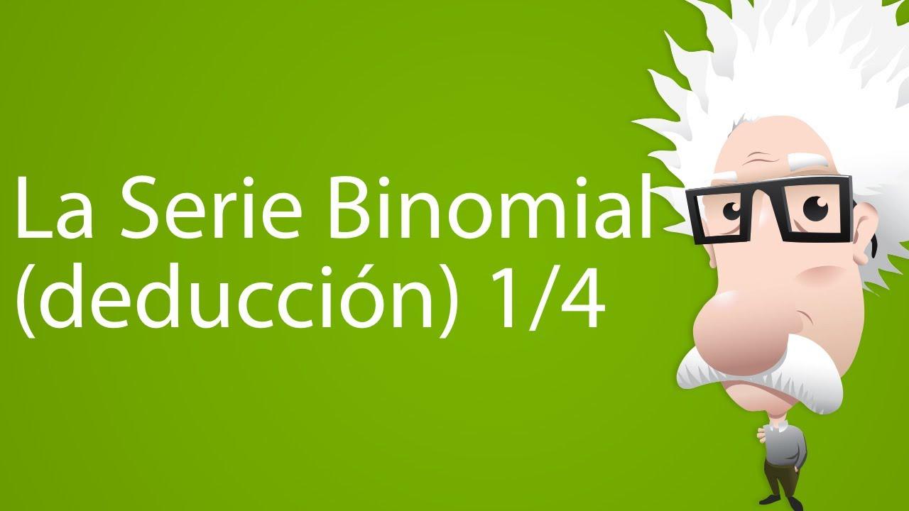 La Serie Binomial (deducción) 1/4 - Trailer - YouTube