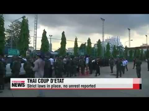 รัฐประหาร International leaders denounce Thai military's coup d'etat