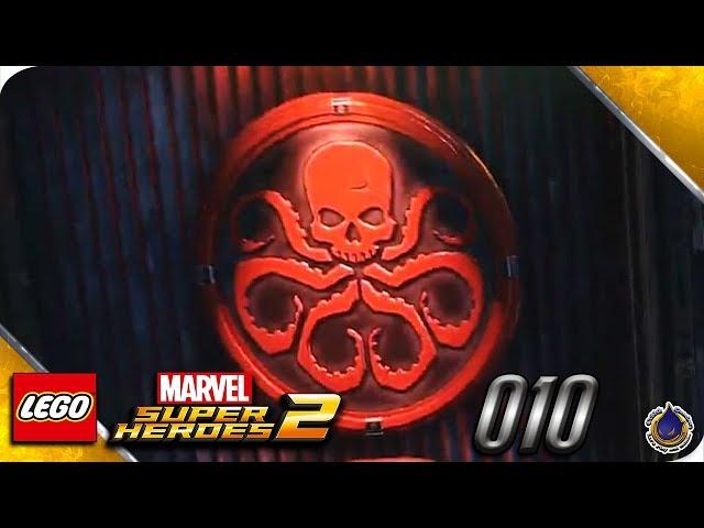 Let's Play LEGO MARVEL SUPERHEROES 2 💥 [010] Hail Hydra!