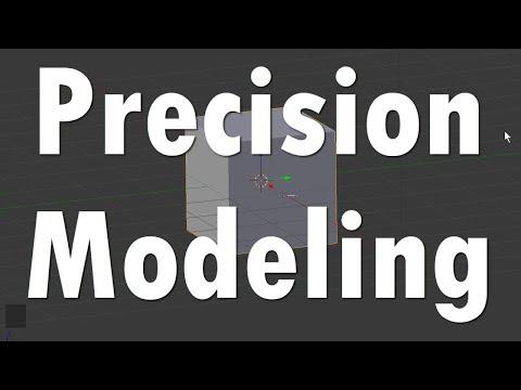 Blender Tutorial: Precision Modeling