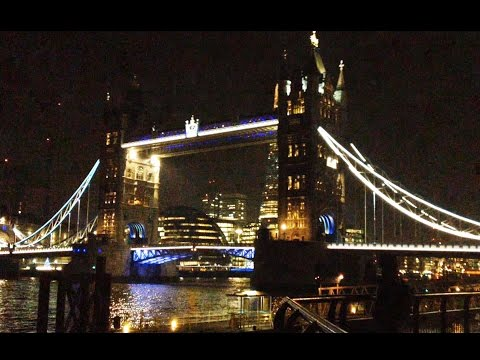 London City Lights: Tower of London, Tower Bridge and The Shard