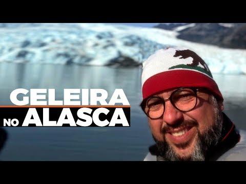 UM TOUR PARA VER AS GELEIRAS NO KENAI FJORDS, ALASCA