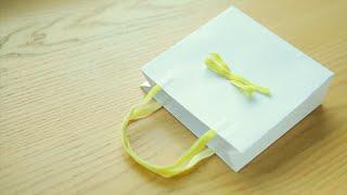 Бумажный пакет своими руками за пару минут
