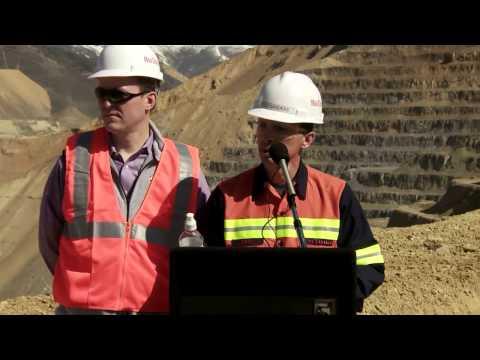 Bingham Canyon Mine Slide - April 25, 2013 Press Conference