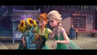 Крижана лихоманка Українською / Frozen Fever Making today a perfect day (Ukrainian) HD