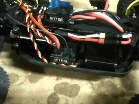 Losi Mini 8ight - How to Upgrade to a Hitec Servo
