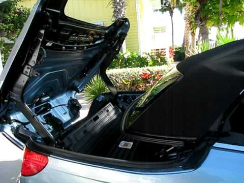 Chrysler Sebring Convertible Top In Motion