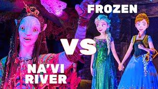NA'VI RIVER JOURNEY vs FROZEN EVER AFTER - ITM Ultimate Attraction Showdown #2