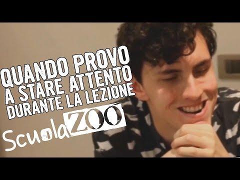 Ogni volta che provo a SEGUIRE la LEZIONE - Leonardo Ontano #ScuolaZoo