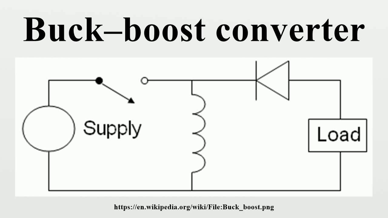 buckboost converter concept