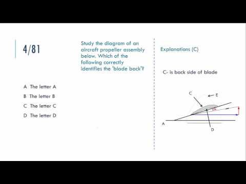 2 02 Aircraft general knowledge  - theory test QA