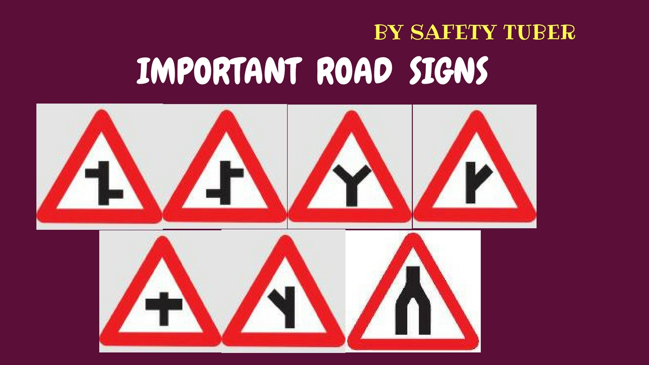 Important road signs you should know part 4 youtube for The sign