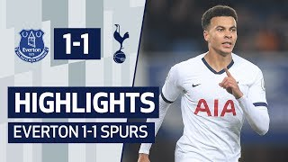 HIGHLIGHTS | EVERTON 1-1 SPURS