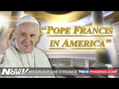 FNN: Pope Holds Evening Prayer at St. Patrick's Cathedral in New York City