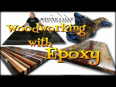 Woodworking with Epoxy, epoxy resin woodworker