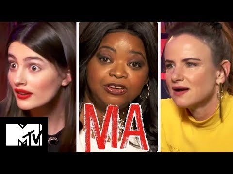Ma Cast Play Guess The Famous Ma & Reveal Kissing Scenes Secrets   MTV Movies