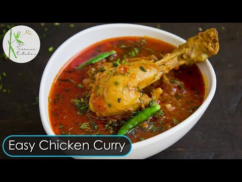Quick & Easy Chicken Curry | Bachelor Recipe | Simple & Tasty Chicken Curry ~ The Terrace Kitchen