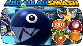 Mario Tennis Aces - ALL Tournament Trophies With Chain Chomp! [Nintendo Switch]