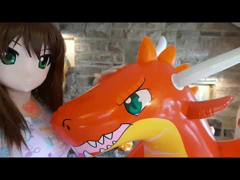 I had fun with inflatables at the Summer Kigurumi meet