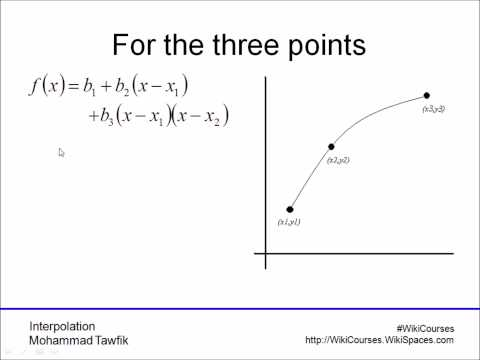 Interpolation: Newton Method