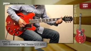 "【デジマートNew Gear Showcase】Epiphone / 50th Anniversary ""1962"" Sheraton E212T Outfit"