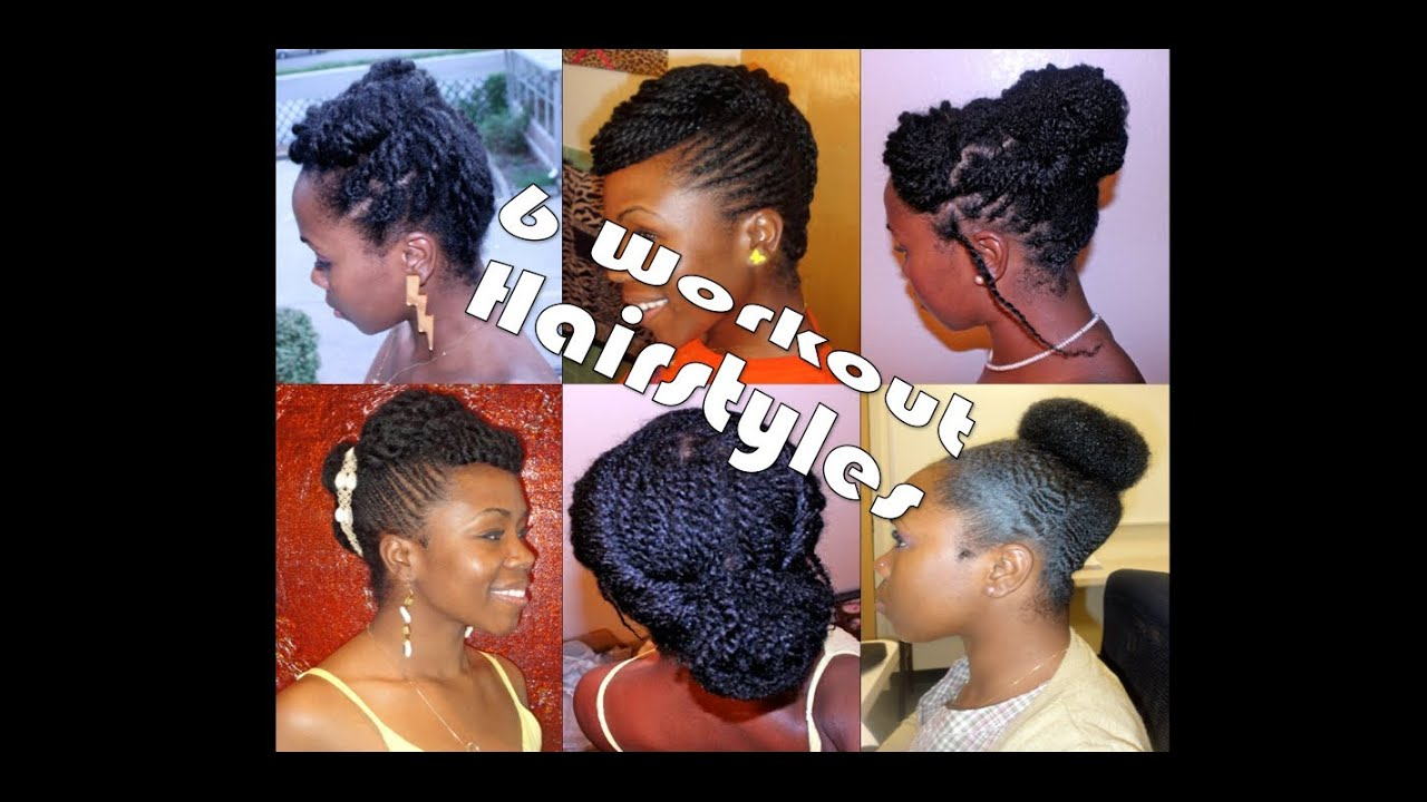6 Workout Hairstyles For Natural & Transitioning Hair Part 1