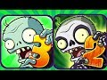 Plants vs Zombies 3 Pak vs Plants vs Zombies 2