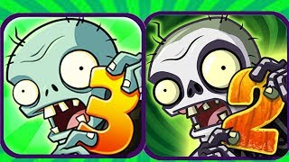 Plants vs Zombies 3 Pak vs Plants vs Zombies 2