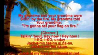 Cyndi Lauper - Iko Iko - with lyrics