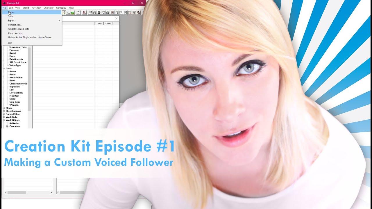 How to Make Custom, Uniquely Voiced Followers – Skyrim