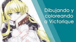 [SpeedPaint] Dibujando y Coloreando a Victorique