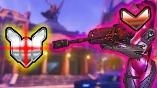 1 BRONZE Widowmaker with 5x Stats vs 6 PLATINUM Who Wins RIDICULOUS GAME Overwatch