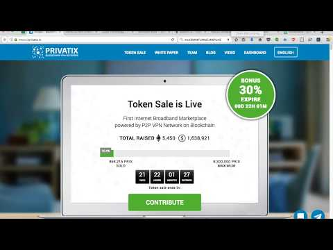 Privatix Initial Token Offering Review