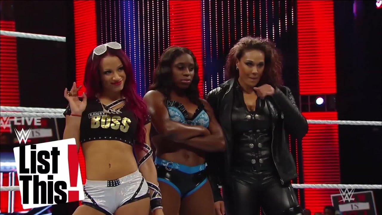 As 5 Superestrelas com mais vitorias na Evolução Feminina: WWE List This! (EM PORTUGUÊS)