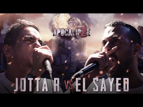 Liga Knock Out / EarBox Apresentam: Jotta R vs El Sayed (Apocalipse 2)