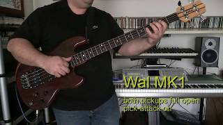 Wal Mk1 with DBX160A compressor. Sadowsky strings.