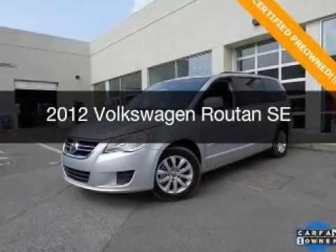 Huntsville, AL Carmax VS Hiley Auto Cars 2012 Volkswagen Routan Decatur, AL