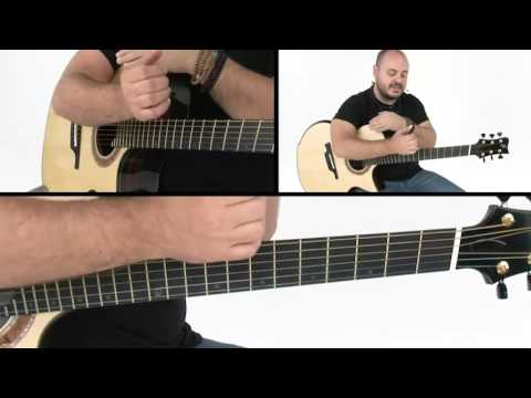 "How to Play ""Drifting"" - Verse Breakdown - Andy McKee Guitar Lesson"