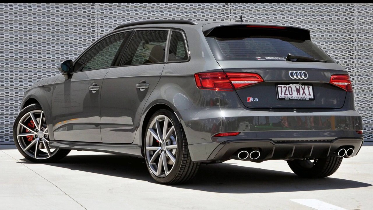 Audi Nano Grey >> 2016 Audi S3 8V MY17 Sportback Quattro Nano Grey Metallic 6 Speed Manual Hatchback - YouTube
