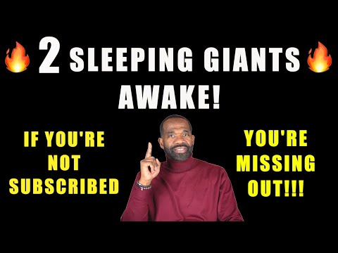 🔥🔥 2 SLEEPING GIANT STOCKS THAT WOKE UP TODAY | WHY YOU SHOULD BE SUBSCRIBED TO THIS PAGE