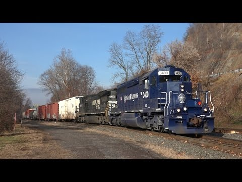 Trains on the Norfolk Southern Buffalo Line 2015